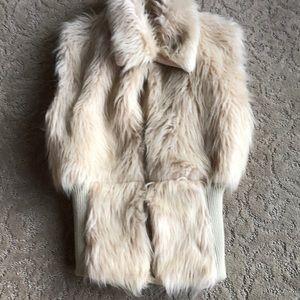 Jackets & Blazers - Trendy and Super Stylish Cream Winter Coat Vest